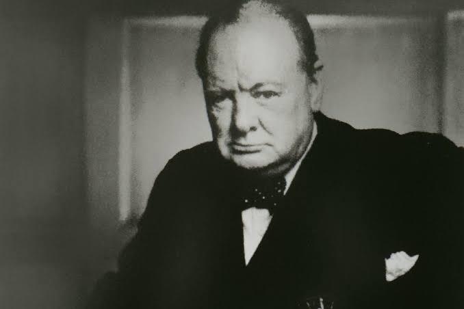 Churchill Portresi - Yousuf Karsh