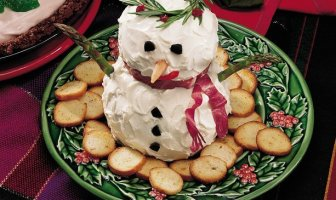 Kardan Adam Peynir Topları
