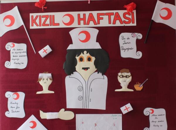 Kizilay Haftasi Pano Calismalari Ansiklomedia