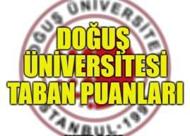 Doğuş Üniversitesi Taban Puanları 2019