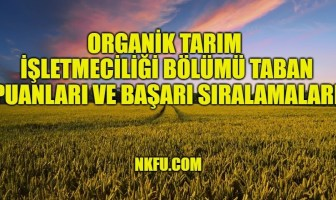 Organik Tarım İşletmeciliği