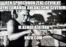 Atatürk'ün Spor Hakkındaki Sözleri