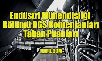 Endüstri Mühendisliği Bölümü DGS