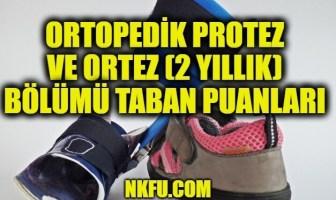 Ortopedik Protez ve Ortez