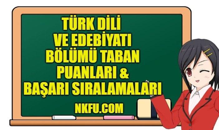 Türk Dili ve Edebiyatı