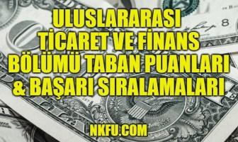 Uluslararası Ticaret ve Finans Taban Puanları