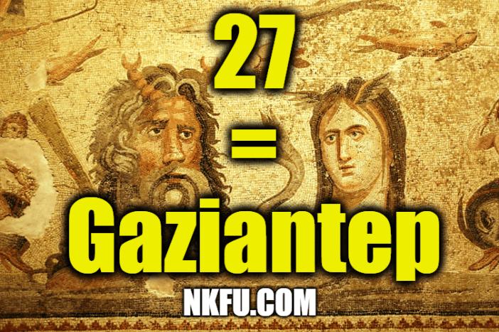 27 plaka gaziantep