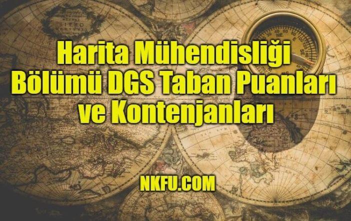 Harita Mühendisliği Bölümü DGS