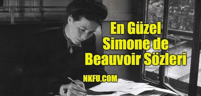 Simone de Beauvoir'dan Kadınlar Erkekler ve Hayata Dair Sözler
