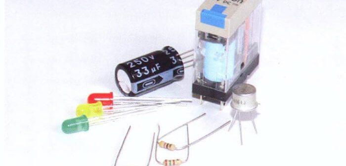 işlemcinin elektronik parçaları