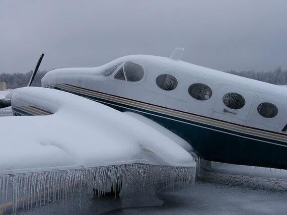 buza dayanıklı uçaklar