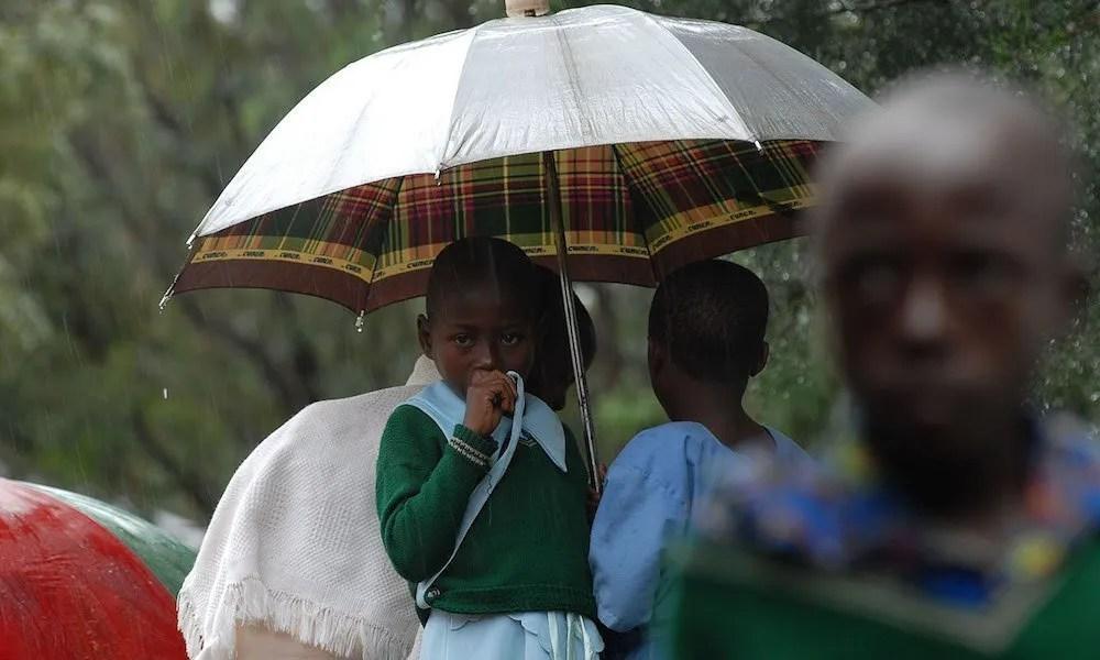 uganda in the rain
