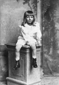 Anonymous studio photographer, unknown child. United Kingdom, late 19th century.