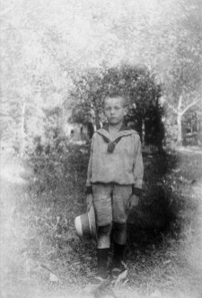 Anonymous photographer and boy. Germany, early 20th century.