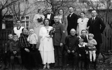 Anonymous photographer and family. Germany, early 20th century.
