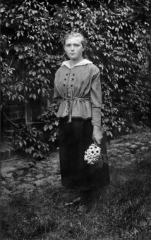 Anonymous photographer and model, Latvia, early 20th century.