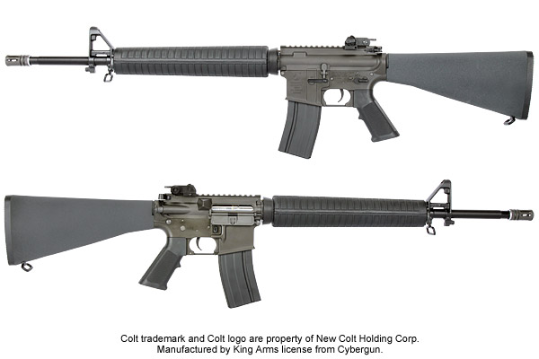King Arms Colt M16A3