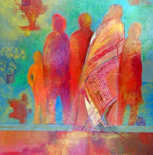 Featured Art: Group Therapy
