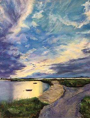 West Coast Vista painting