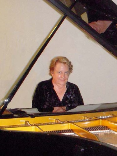 Bette Miller at piano
