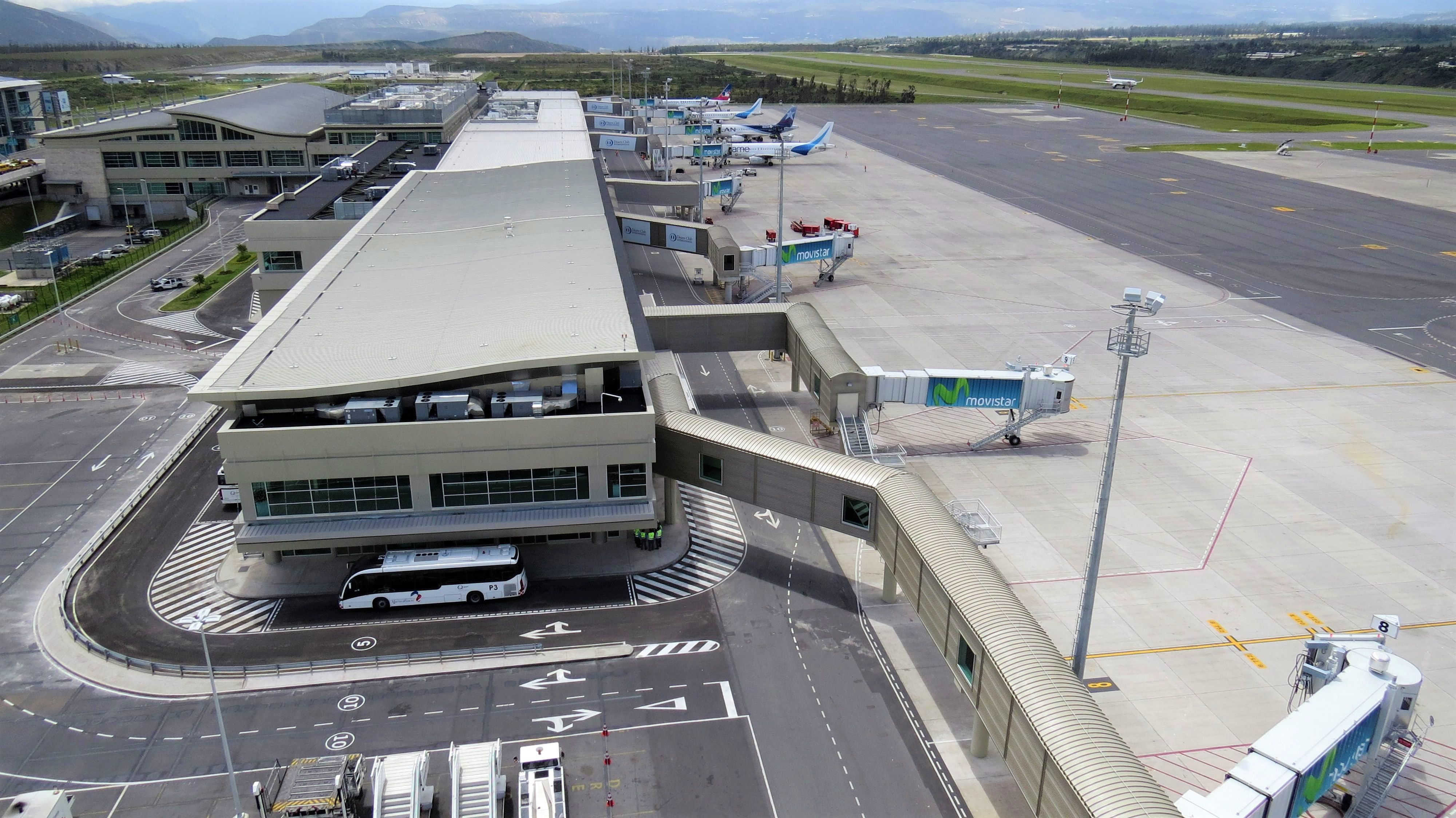 There are already 30 million passengers in the New Quito Airport
