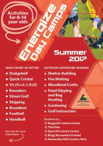 Energise Day Camp @ Normanby Hall | Normanby | England | United Kingdom