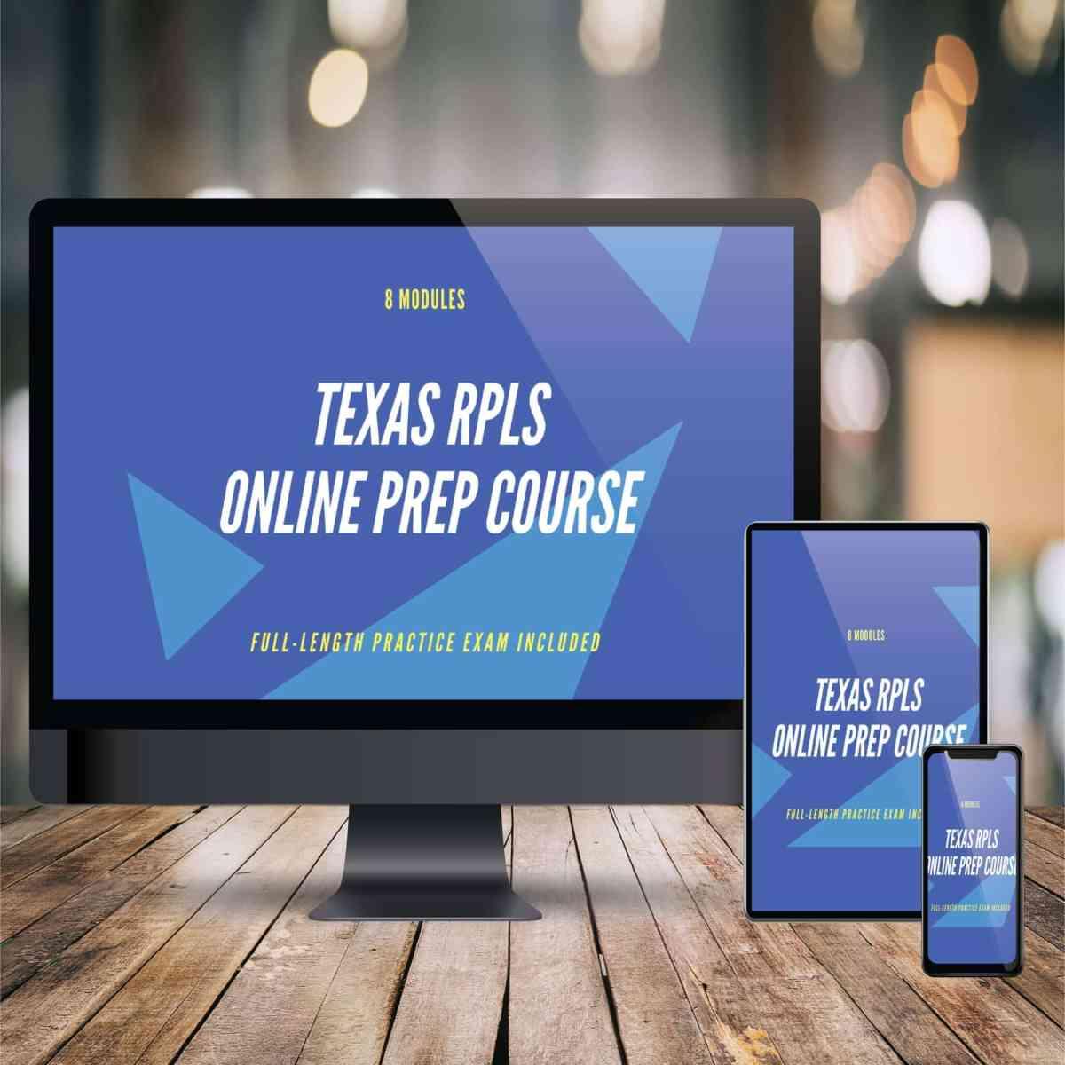 TX RPLS Online Prep Course