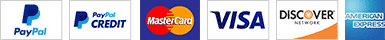 Credit Card and Debit Card Acceptable Payment Methods