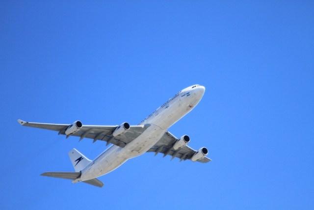 plane on air