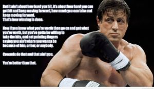 Rocky Balboa Quotes NLP Practitioner Training for Success in Neuro-Semantics Malaysia