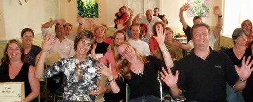 Participants on an NLP World Training   NLP World