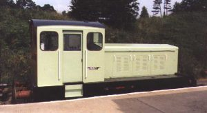 """Bunty"" at Pitsford & Brampton station."