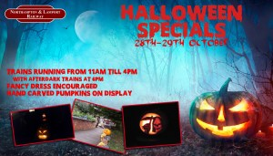 Halloween Specials @ Northampton and Lamport Railway | Chapel Brampton | United Kingdom