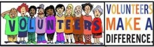 Volunteers Make a Difference logo