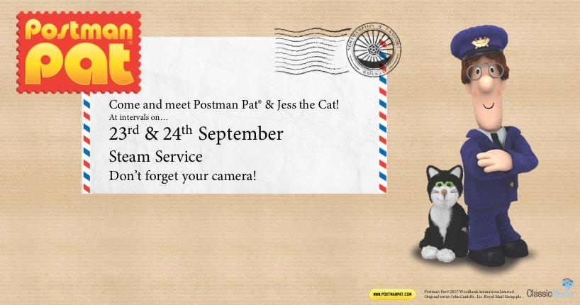 Postman Pat Visit