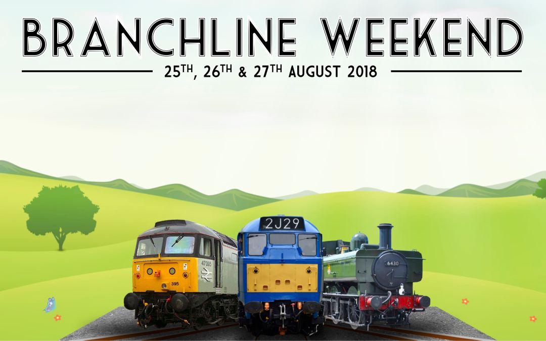 Branchline Weekend 2018