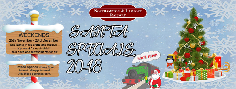 Santa Specials – Bookings Delayed