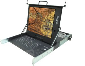 Rugged Military Display CSC-17-CAT5A-810-SK