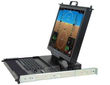 CSC-20-MIL-CAT5A Rugged Military Monitor