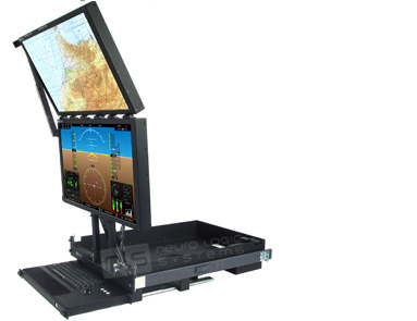 RFT2-2L-24-D Rugged Military Monitor