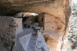 Photo of the Gila Cliff Dwelling from 2009 Spring Tour