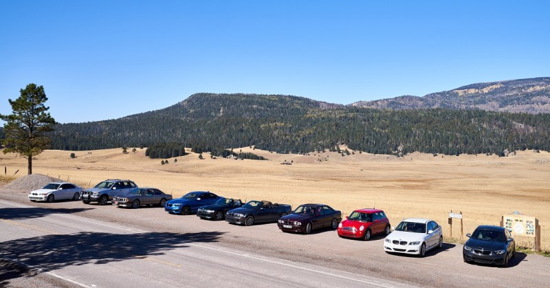 Photo of the NM BMW CCA at Valle Grande - Jason Collin