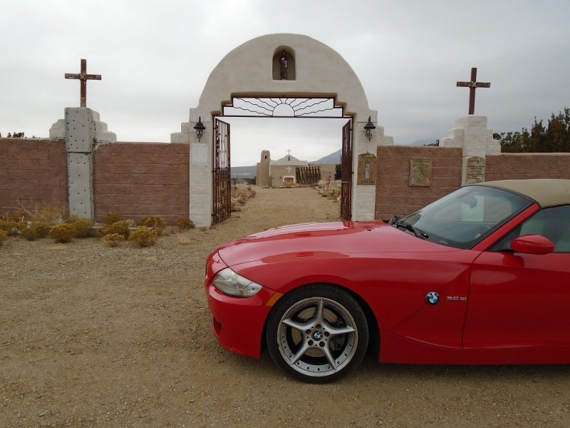 Photo of Z4 at Golden, NM