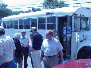 Off the bus for chow-hueneme-2000
