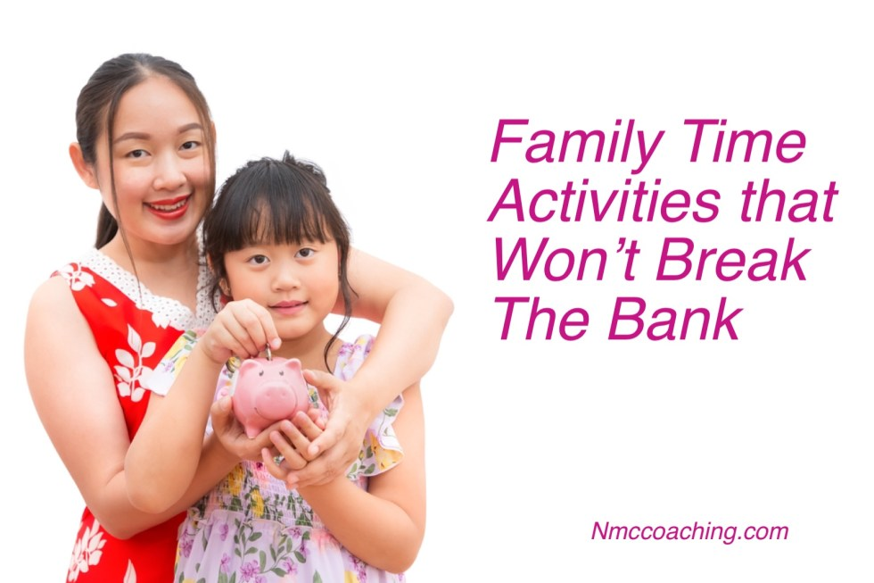 Family time activities that won't break the bank