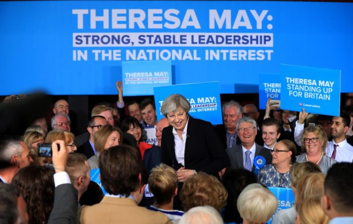 Theresa May Strong And Stable Catchprase Is A Bad Meme