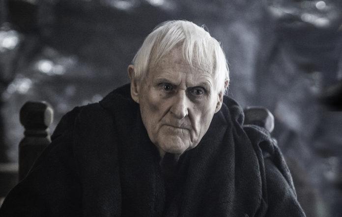 Old man in black robes