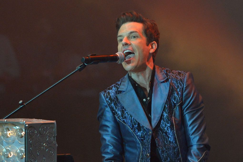 """The Killers' Brandon Flowers says he became a """"shit-talker"""" because of Oasis, Shop Ticket Snatchers"""