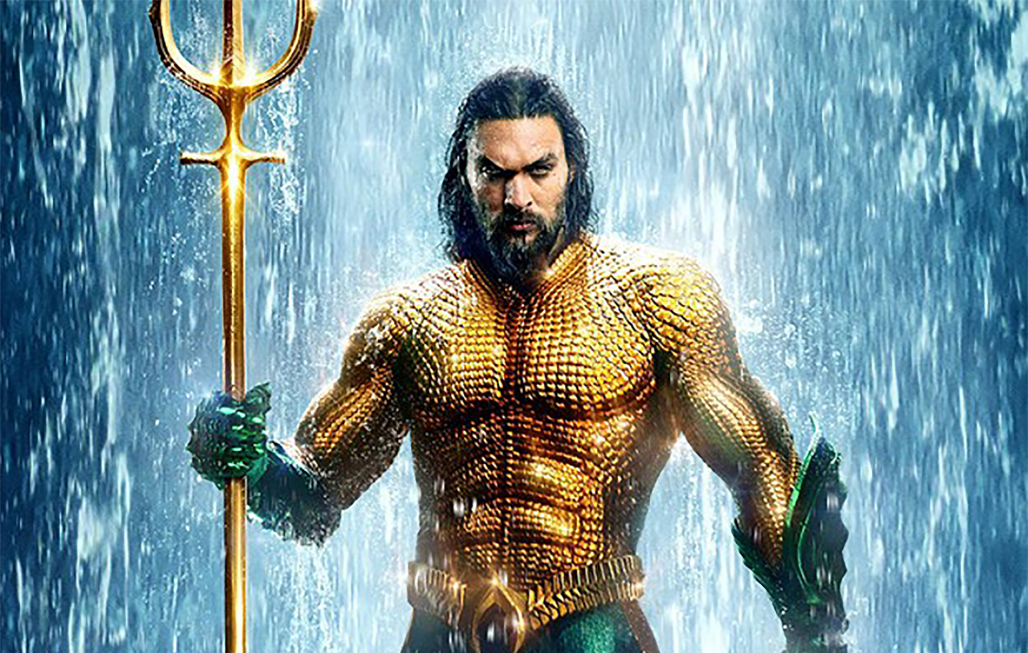 Jason Momoa sends Aquaman trident to young fan with brain cancer
