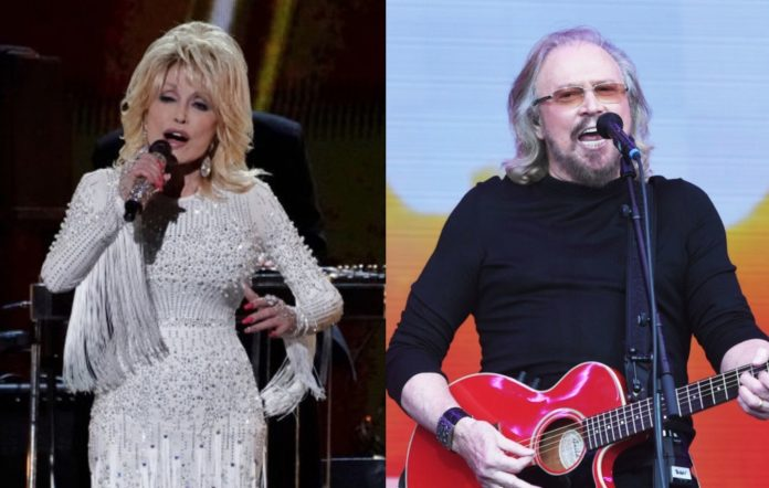Listen to Dolly Parton team up with Barry Gibb for new version of Bee Gees'  'Words'